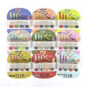 """スタンプインク「そらまめ」 全36色セット : stamp ink pad """"SORAMAME"""" 36 colors complete set"""
